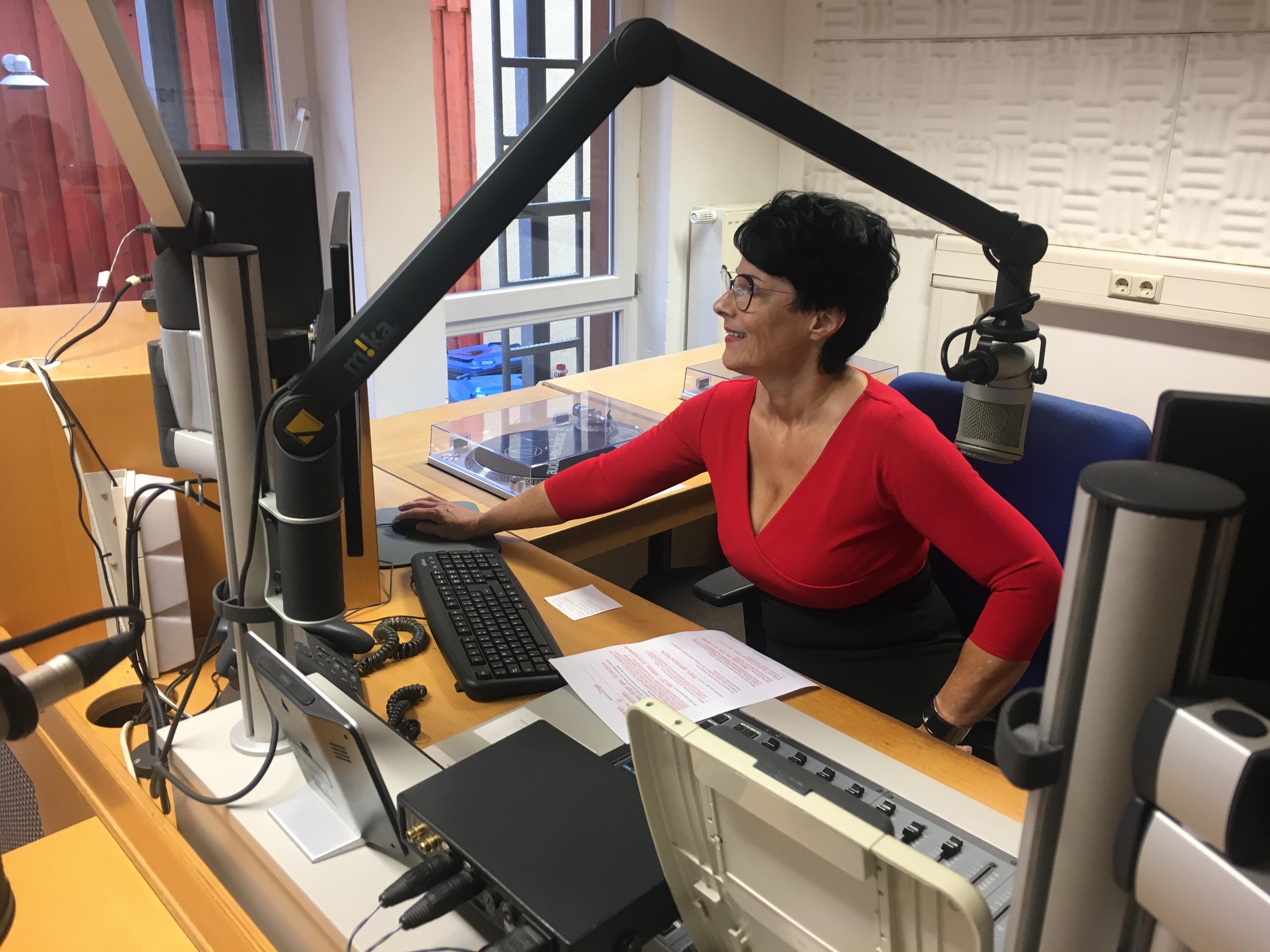 Im Interview mit Plaudertina beim Stadtradio Göttingen 107,eins